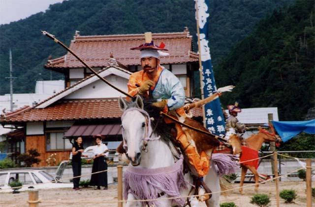 堀八幡神社の流鏑馬