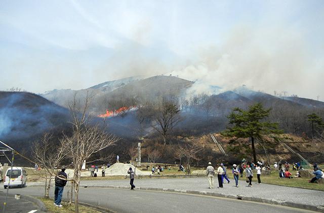 【2021年開催中止】深入山山焼き