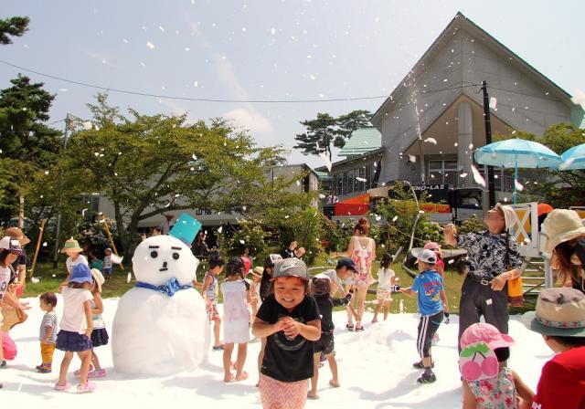 真夏の雪まつりin神石高原ティアガルテン