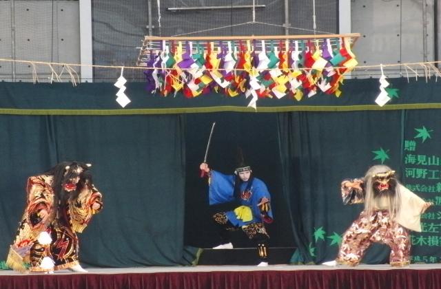 帝釈峡スコラ神楽共演会