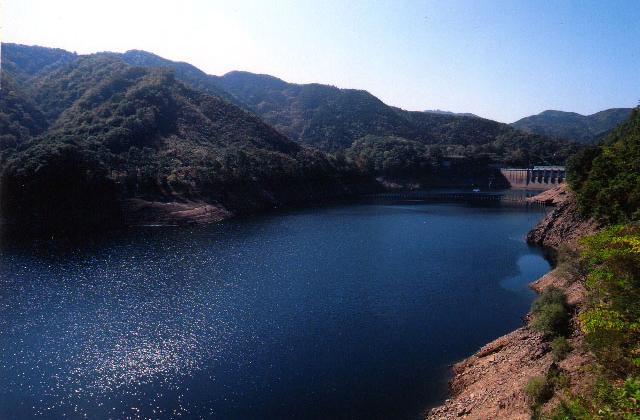 神之瀬川及び神野瀬湖