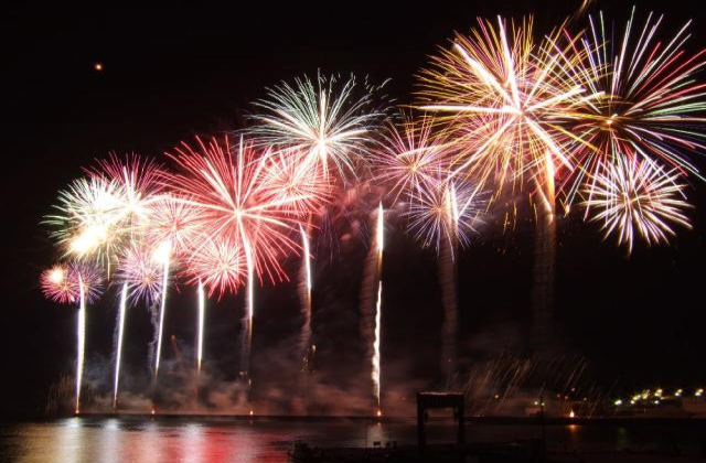 All the Iwakuni Port and Festival Fireworks Display★F4211