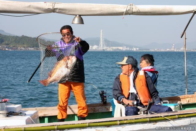 大畠タイ釣り大会