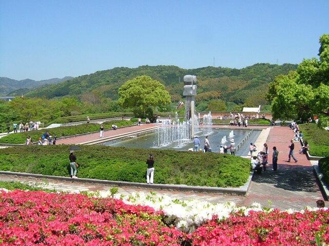 永源山公園つつじ祭り