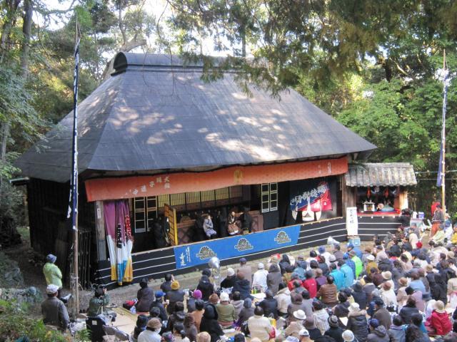 犬飼農村舞台阿波人形浄瑠璃芝居