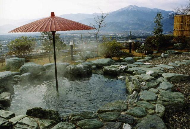 休養村(露天風呂)