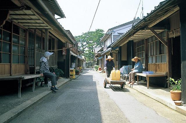 出羽島(重要的傳統性的建築物群保存地區)