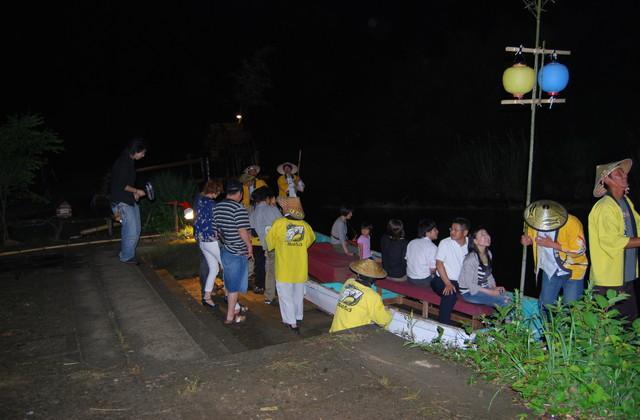 母川ほたる祭り