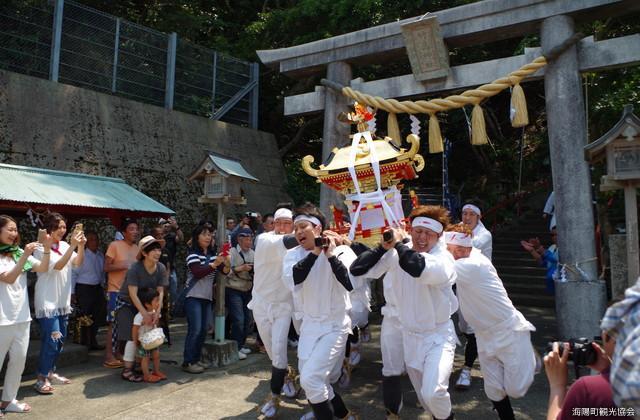 竹ヶ島神社祭り
