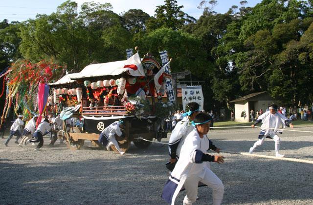 大里八幡神社秋祭り