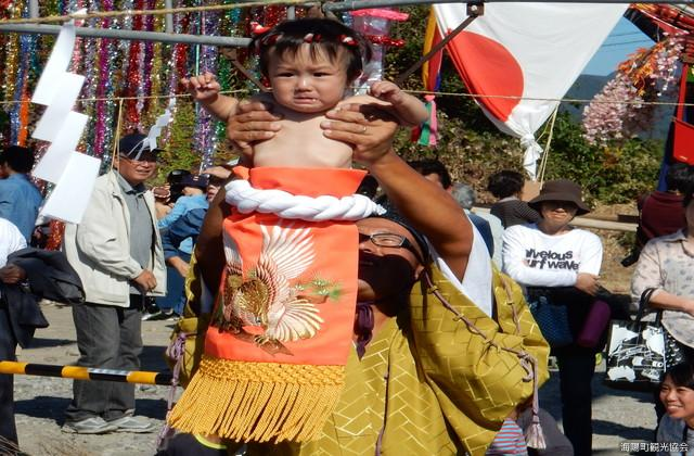 Minato Bashira Shrine Dedication Sumo, Baby's Dohyoiri