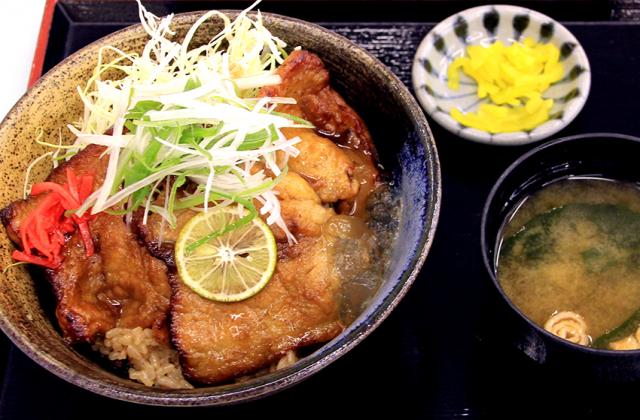 徳島すだち風味豚丼