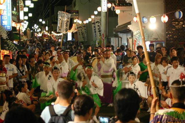 【2020年中止】貞光夏まつり 阿波踊り大会