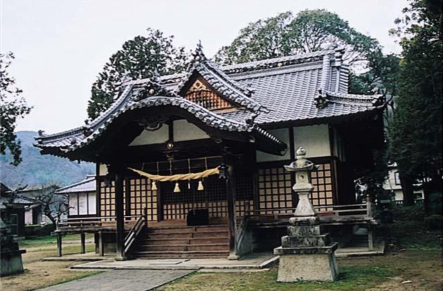 天橋立神社(徳島県東みよし町)