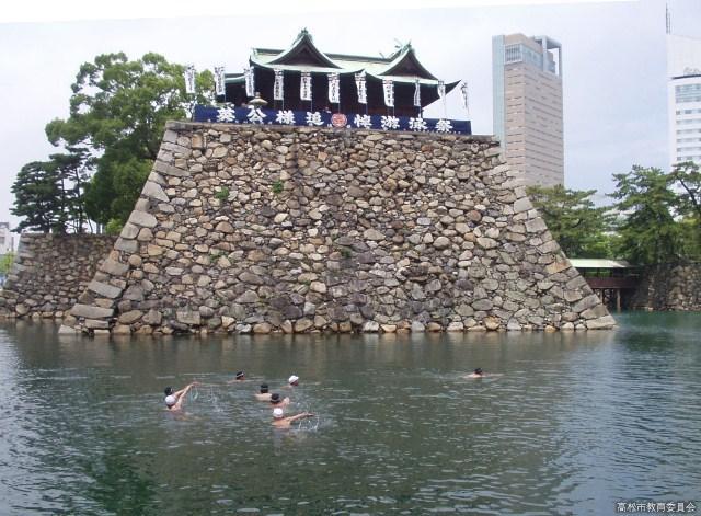 英公様追悼游泳祭