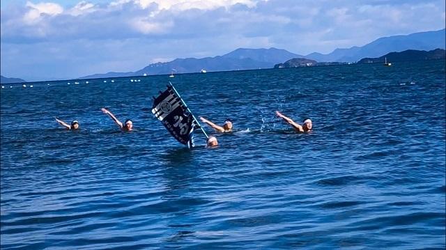 水任流新春初泳ぎ大会