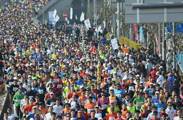 第73回香川丸亀国際ハーフマラソン大会