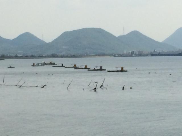 大屋富的釣魚筏子