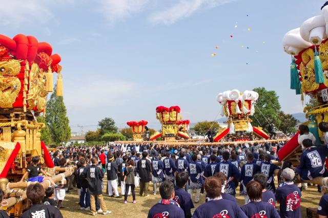 大野原八幡神社秋季例大祭