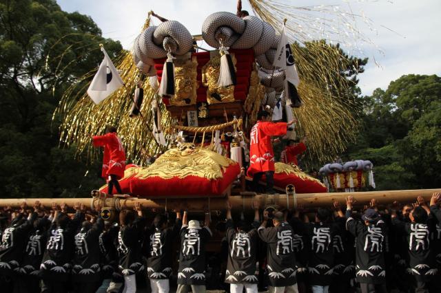 琴弾八幡宮秋季大祭