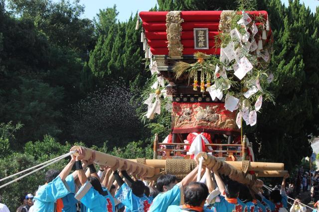 八幡神社秋季節日