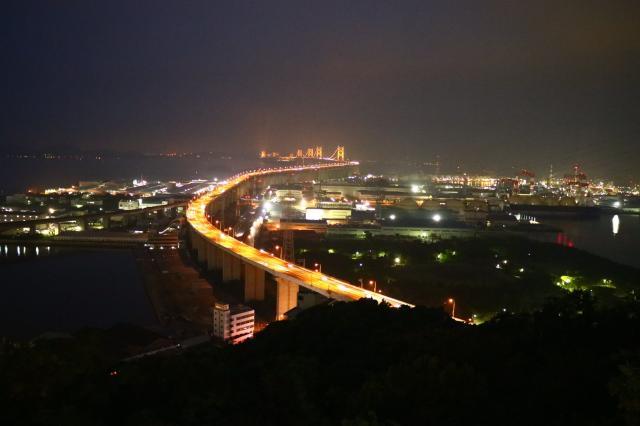 聖通寺山頂展望台