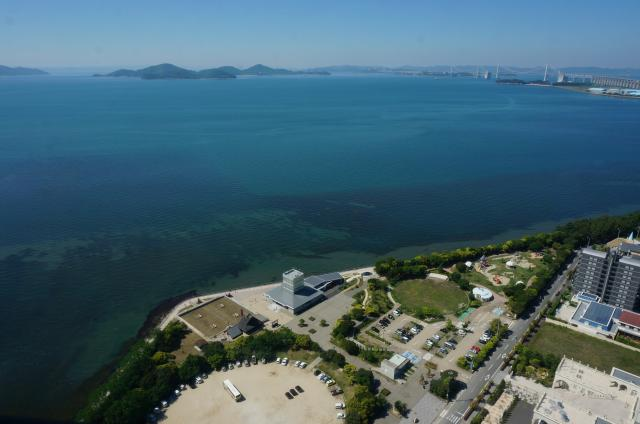 うたづ臨海公園の風景