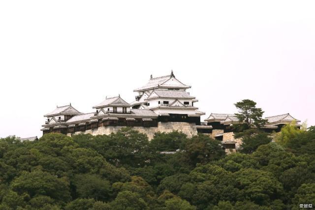 松山城城堡