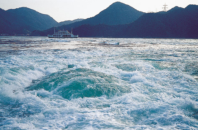 来島海峡の潮流