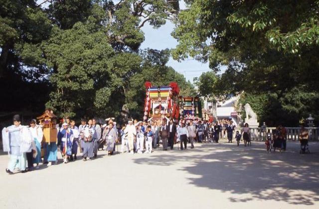 大山祇神社産須奈大祭