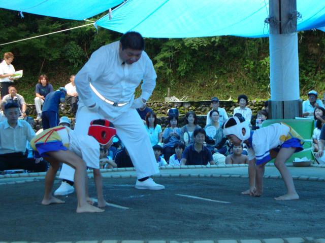 内子町子供相撲大会