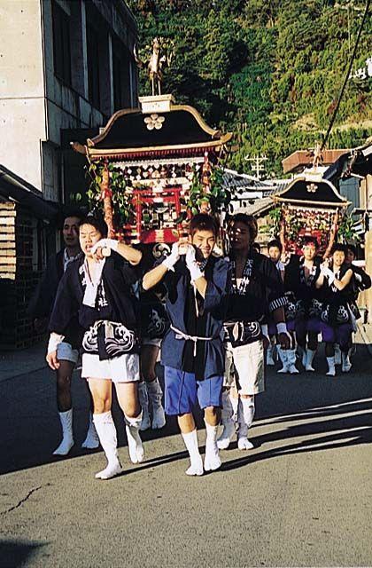 天満神社秋祭り