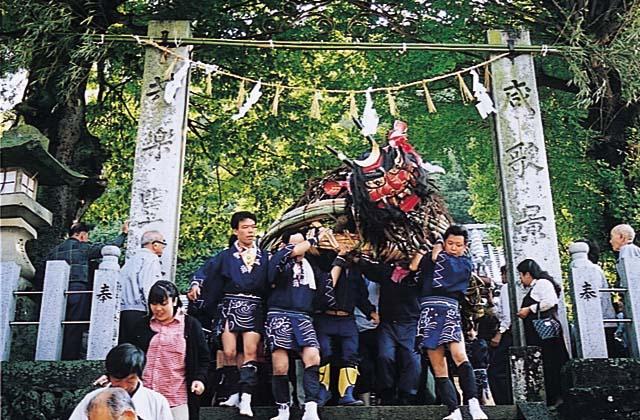 大山神社秋祭り