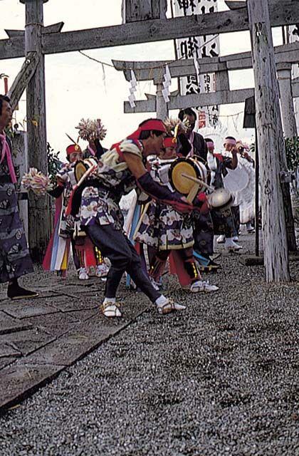 鳴無神社秋祭り