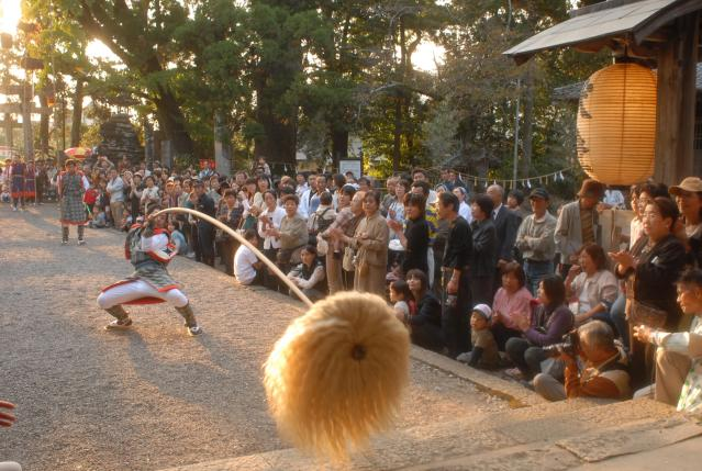 大川上美良布神社秋季大祭(練り込み)