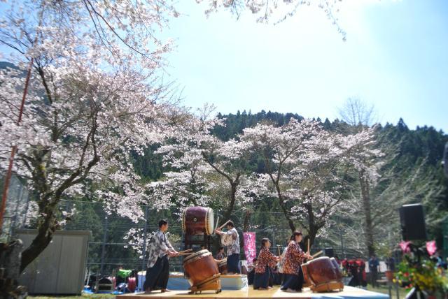 吾北カタシの花祭り
