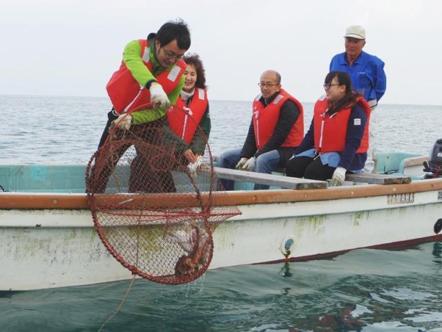 上ノ加江漁業体験施設「わかしや」
