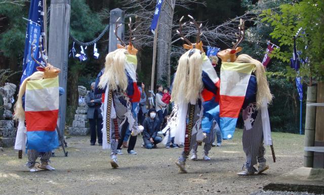 五ツ鹿踊り(高知県四万十町)