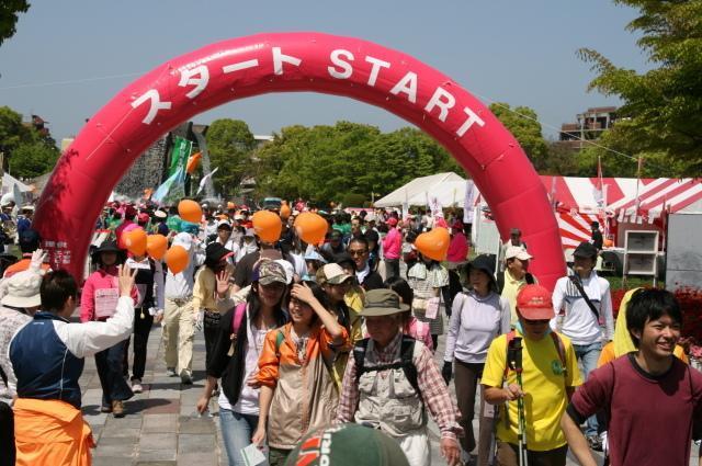 【2021年中止】第23回久留米つつじマーチ