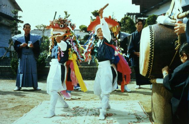 日子山神社風流