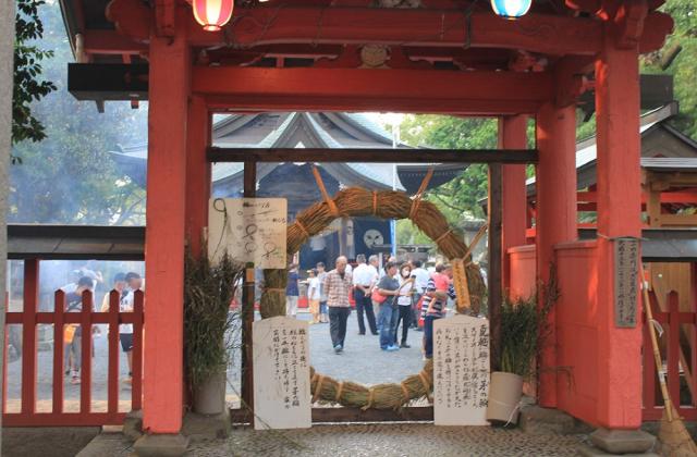 夏越祭(美奈宜神社)