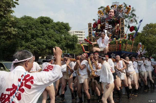 火伏地蔵・老松神社の夏祭り(前原山笠)