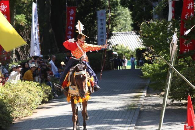 櫻井神社流鏑馬