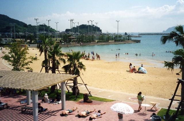 かんす海水浴場