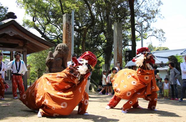 土師老松神社春の例祭