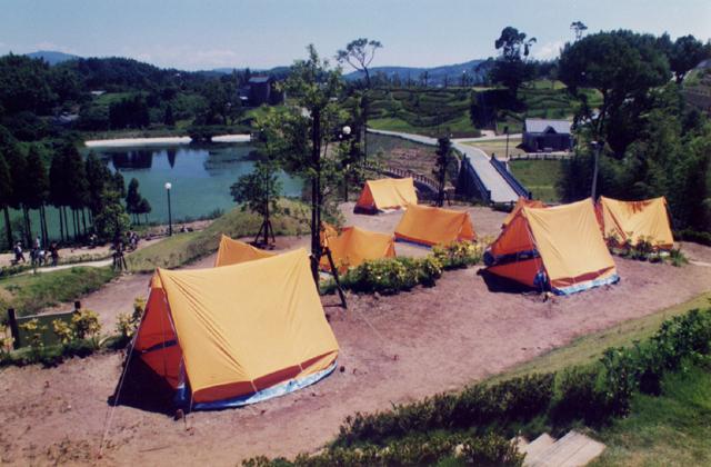 高田濃施山公園キャンプ場