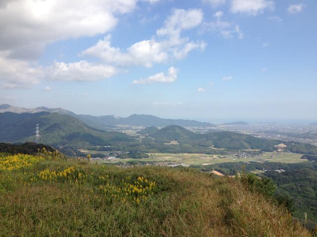 香春町内登山道