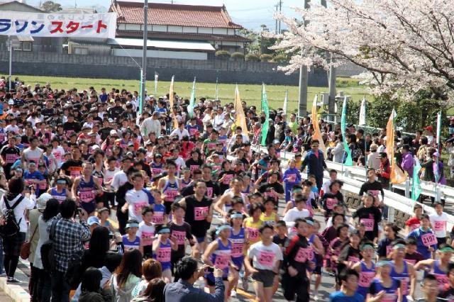 【2021年中止】花としじみの里おおとうマラソン