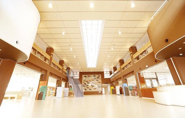 福智町図書館・歴史資料館「ふくちのち」