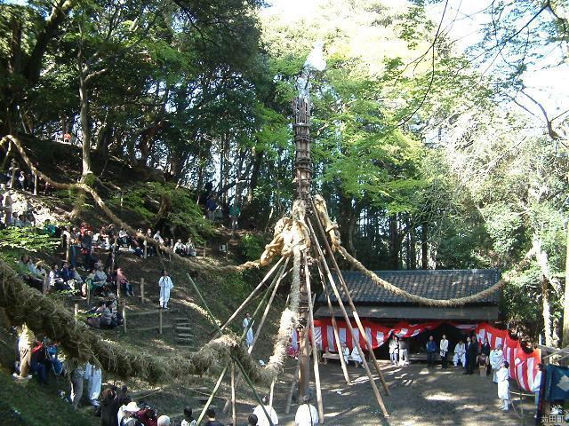 等覚寺の松会